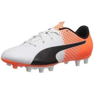 Puma Boys Evospeed 5.5 Soccer Shoes Colorblock Faux Leather