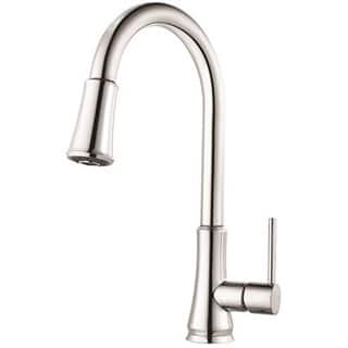 g529 pfcc pfirst series pull down kitchen faucet polished chrome - Pfister Kitchen Faucet