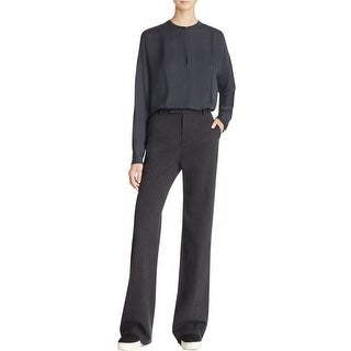 Vince Womens Trouser Pants Wide Legged Pleated