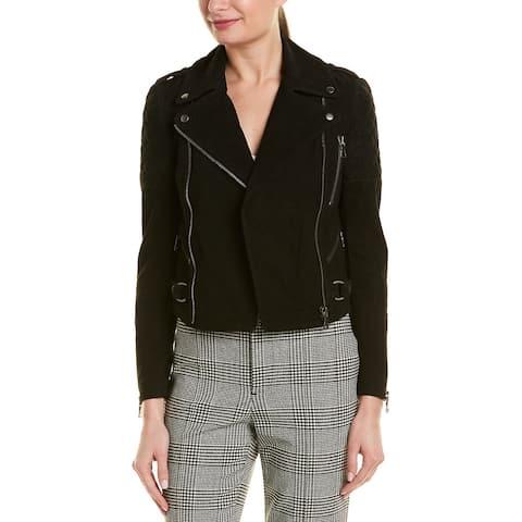 Alice + Olivia Miles Leather Jacket