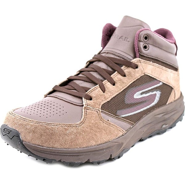 Skechers Go Trail Escape Women Round Toe Suede Hiking Shoe