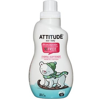 ATTITUDE Eco-Baby Fabric Softener - 40 Loads, 33.8 oz