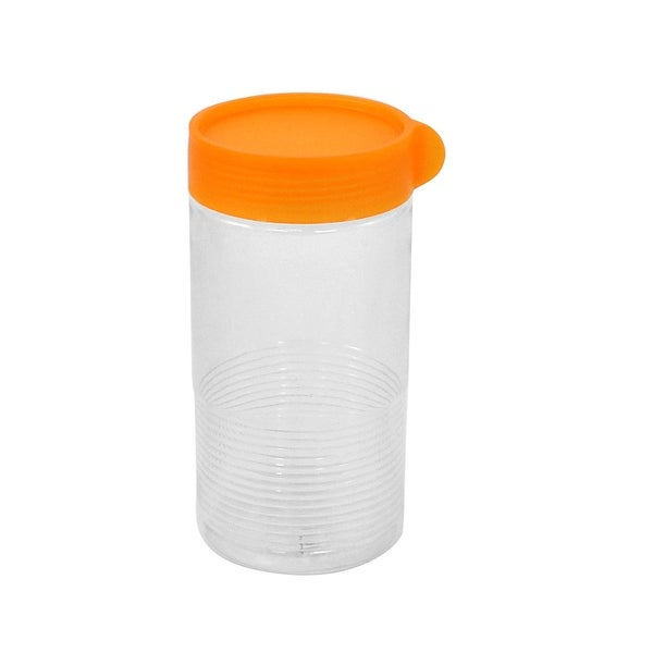 Shop Unique Bargains Home Plastic Cylinder Shape Sealing Jar Food