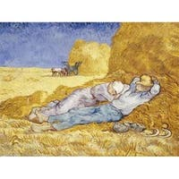 Noon- Rest Poster Print by Vincent Van Gogh, 22 x 28 - Large