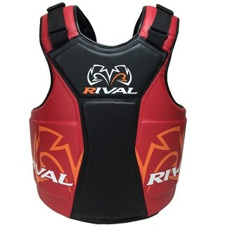 Rival Boxing The Shield Body Protector - Black/Red