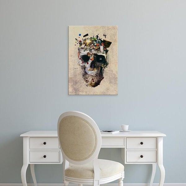 Easy Art Prints Ali Gulec's 'Istanbul Skull 2' Premium Canvas Art