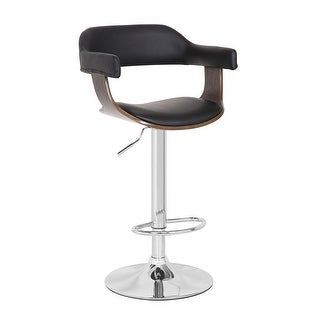 Link to Contemporary Swivel Adjustable Oak Wood Barstool Similar Items in Dining Room & Bar Furniture
