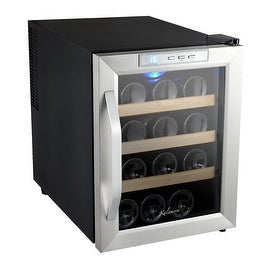 Kalamera 12 Bottle Wine Cooler Thermoelectronic System