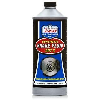Lucas Oil 10826 Lucas Oil 10826 Dot 3 Brake Fluid Quart