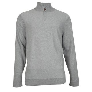 Alfani Men's Slim Fit Knit Half-Zip Pullover - XL