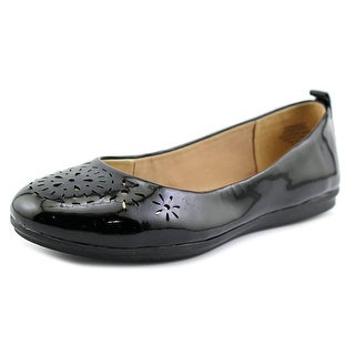 Easy Spirit Gramercy Women Round Toe Synthetic Black Flats