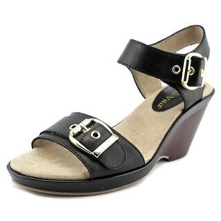 Bella Vita Jinny Women WW Open Toe Leather Wedge Sandal