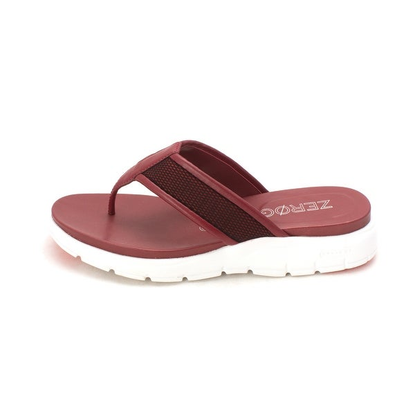 Cole Haan Womens Molliesam Open Toe Casual T-Strap Sandals - 6