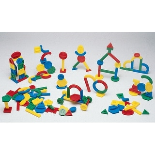 Childcraft Double-Grooved Edge Building Shapes Set