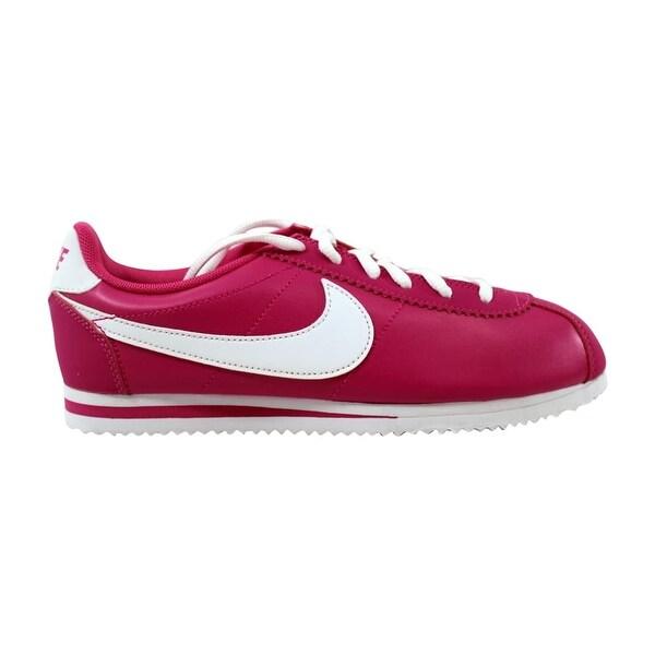 b106b5f30575 Shop Nike Cortez Vivid Pink White 749502-600 Grade-School - Free ...