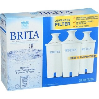 Brita Replacement Pitcher and Dispenser Filter-9 Pack