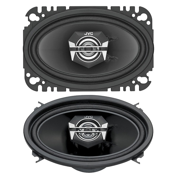 JVC CSV4627 140-Watt 4-Inch x 6-Inch 2-Way Coaxial Speakers