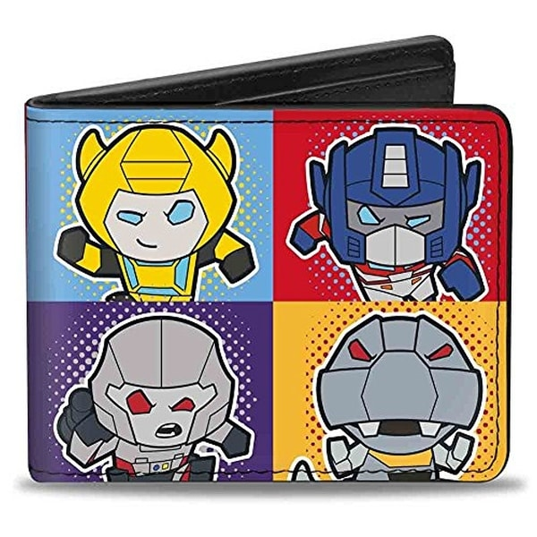 Buckle-Down Bifold Wallet Transformers