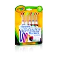 Crayola Washable Marker Set - 15 Colors Segmented Tip,