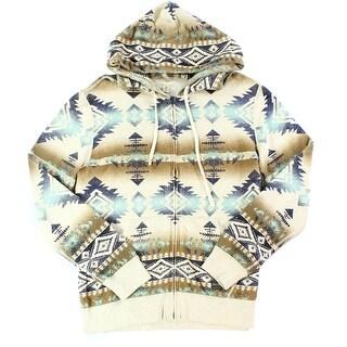 Denim & supply by RALPH LAUREN NEW Beige Mens Medium M Hooded Sweater