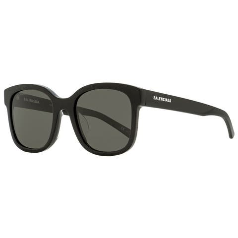 Balenciaga BB0076SK 006 Unisex Black 52 mm Sunglasses