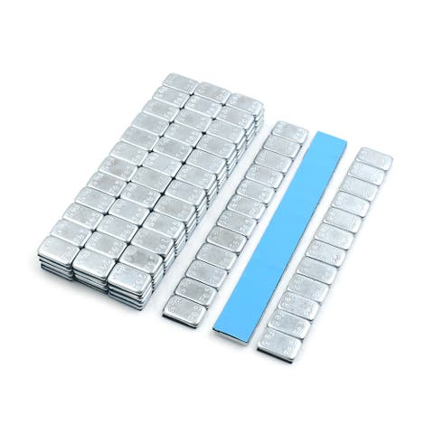 2.1oz Self Adhesive Wheel Balance Weights Strips for Motorcycle 140 x 19mm 15pcs