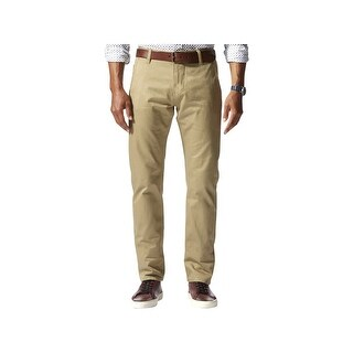 Dockers Mens Alpha Khaki Pants Slim Fit Tapered