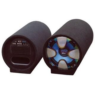 Pyle Audio PYLPLTAB8B PYLE PLTAB8 8-Inch 250 Watt Amplified Subwoofer Tube