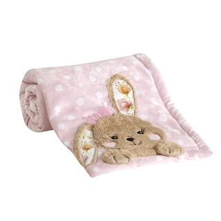 Lambs & Ivy Pink Sweet Spring Blanket