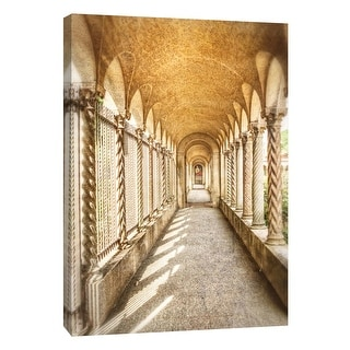 "PTM Images 9-105985  PTM Canvas Collection 10"" x 8"" - ""Franciscan Monastery"" Giclee Architecture Art Print on Canvas"