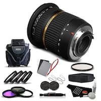 Tamron SP AF 10-24mm f / 3.5-4.5 DI II Lens For Pentax International Version (No Warranty) Advanced Kit - black