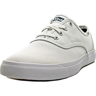 Keds Triumph 28 Women Round Toe Canvas White Sneakers