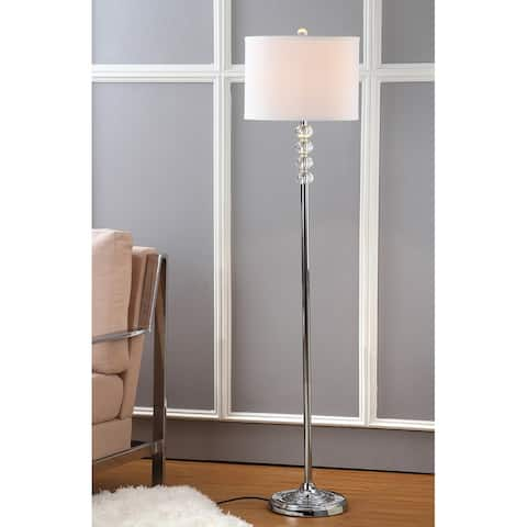 "SAFAVIEH Lighting 60-inch Crystal Vendome Floor Lamp - 14""x14""x60"""