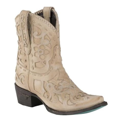 Lane Boots Women's Robin Bootie Bone Full Grain Leather