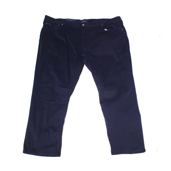 60a07dd8e717 Shop Polo Ralph Lauren Mens Big   Tall Classic Fit Pants - Free Shipping  Today - Overstock - 27036774