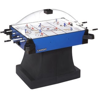 Carrom Blue Signature Stick Hockey Table with Pedestal Base and dome Scoring Unit / 435.01 - Black