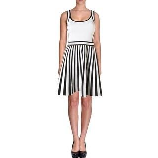 Guess Womens Sleeveless Mini Cocktail Dress