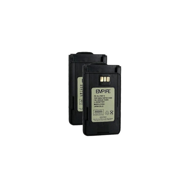 Replacement Battery for Yaesu FNBV113LI (2-Pack) Replacement Battery