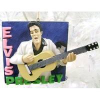 Elvis Presley 3-D Debut Album Cover Christmas Ornament #RK0001