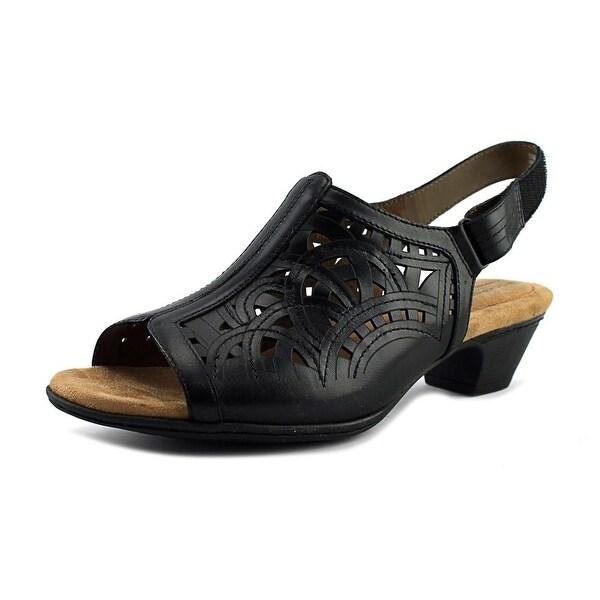 Rockport Abbott Women US 10 Black Slingback Sandal