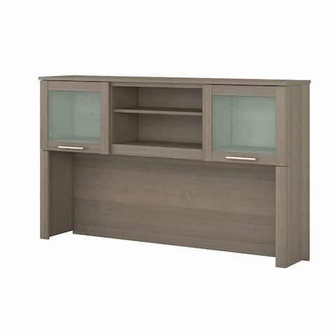 """Copper Grove Shumen 60-inch Hutch for L-shaped Desk - 59.09""""L x 12.50""""W x 35.69""""H"""