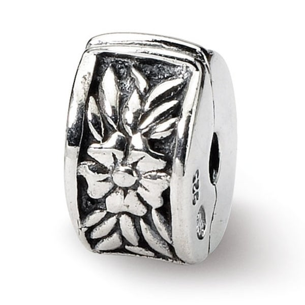 Sterling Silver Reflections Kids Floral Clip Bead (4mm Diameter Hole)