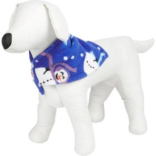 Family PJs Dog Costume Snowman Holiday