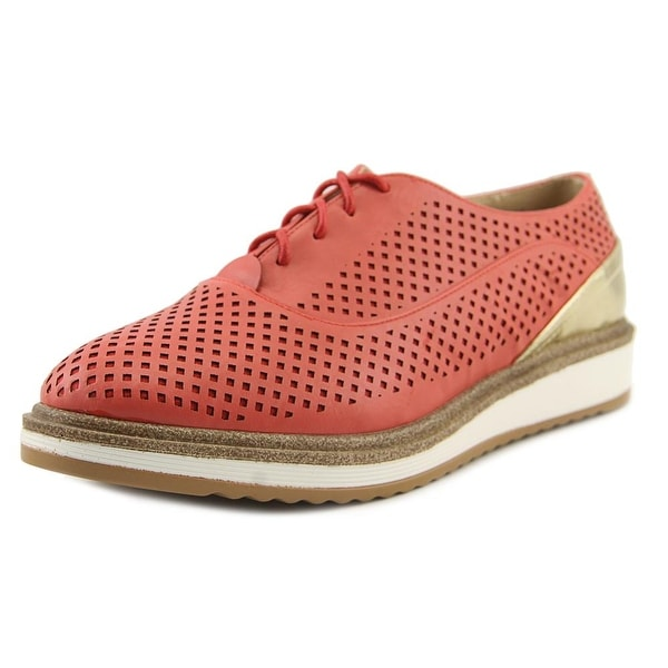 Wanted Macdaddy Women Round Toe Synthetic Oxford