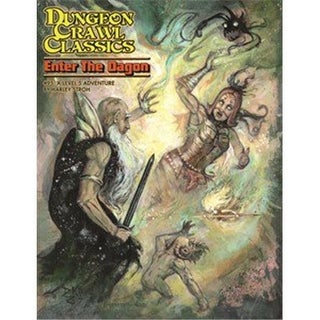 Goodman Games GMG5096 Dungeon Crawl Classics 95 Enter the Dagon Game