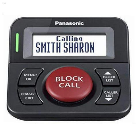 Panasonic Call Block Button Call Blocker Button
