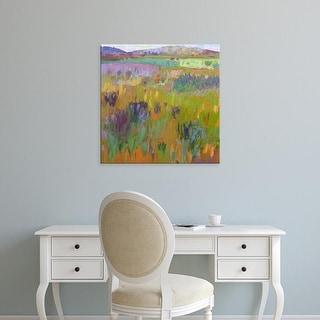 Easy Art Prints Jane Schmidt's 'After a Spring Rain' Premium Canvas Art