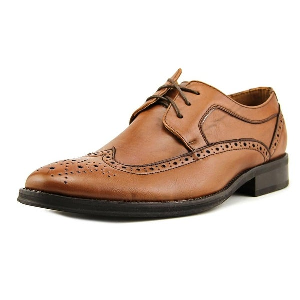 Black Brown Crayton Men Round Toe Leather Bronze Oxford