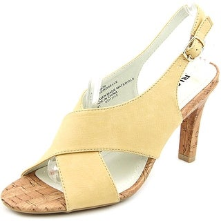 Rialto ROSELLE Women Open-Toe Synthetic Nude Heels