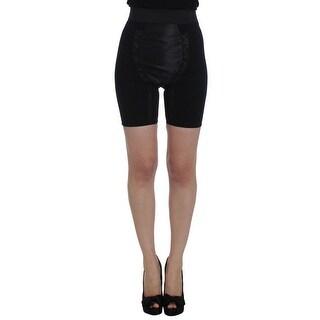 Dolce & Gabbana Dolce & Gabbana Black Stretch High Waist Mini Shorts